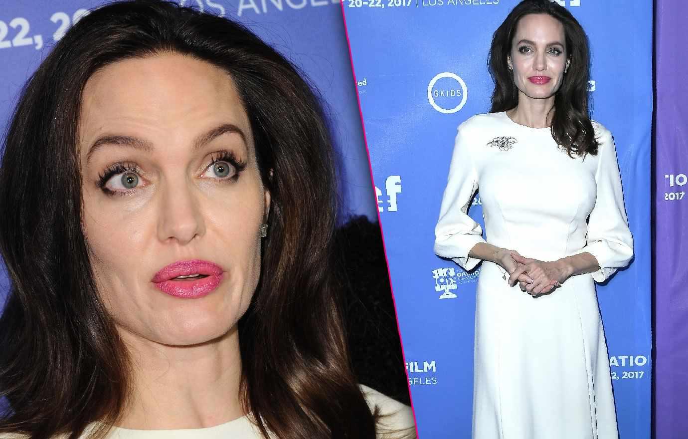 Анджелина Джоли на прага на смъртта