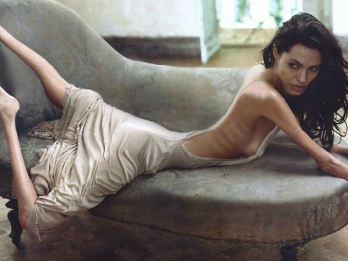 Анджелина Джоли 37 кг