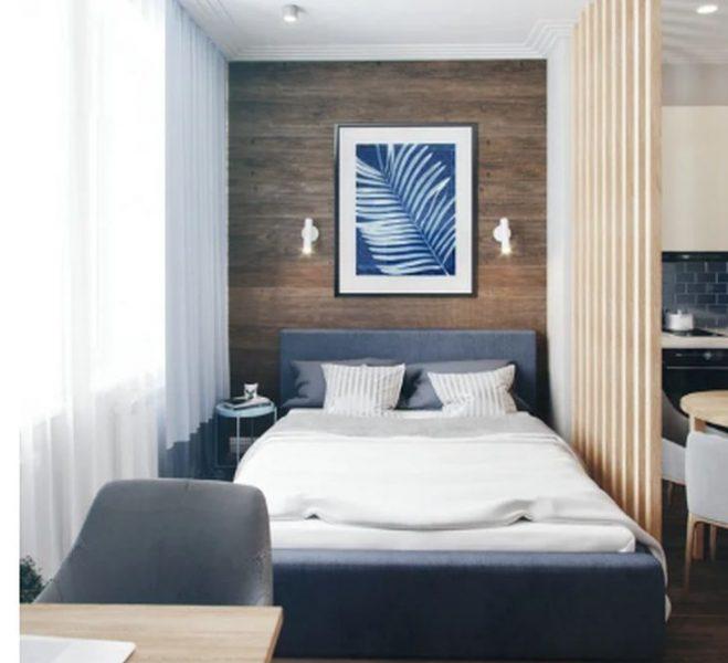 Квартира от 27 квадрата се превърна в жилище със спалня, кухня, баня и хол след вълшебен ремонт (СНИМКИ)