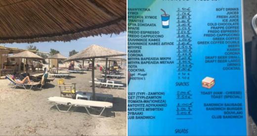 данни за цените в Гърция